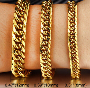 Gb0614946e Newest 2015 14 Carat Gold Jewelry Goldcelet For Men