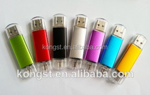 High quality plastic usb 2.0 mobile phone usb flash drive otg usb memory