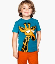 2016 Kids Clothing Wholesale High Quality Printed T- shirt Baby Clothes Boys T-shirt