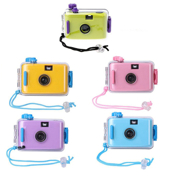 Reusable Underwater Waterproof Film 35mm LOMO Camera Cheap Ultra Compact Camera Clear Plastic Casing  Wholesale China Promotion