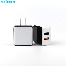 Groothandel Draadloze Opladen 5 v 2.1A 2 Dual Poorten Draagbare USB Travel Wall Charger China Mobiele Telefoon