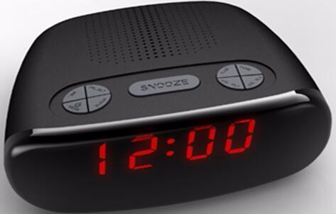 Desktop am/fm novelty alarm clock radio