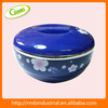 Japanese Style Doule Tiers for Meal Plastic Base Lunch Box Bento