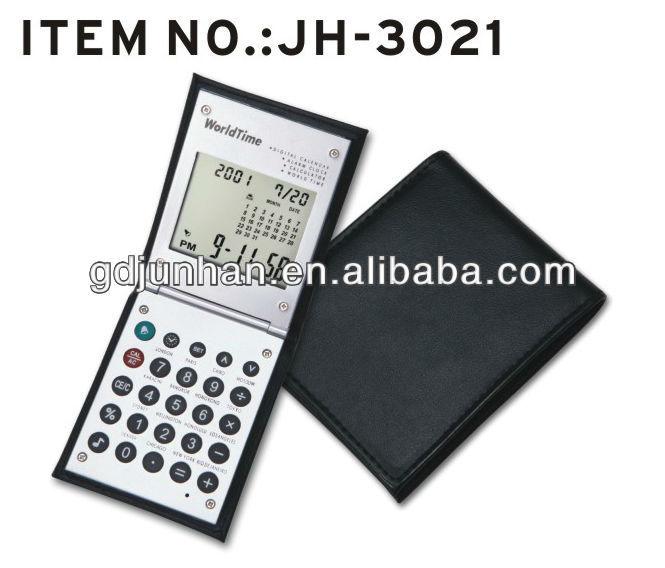 Sliding Alarm Clock World Time Digital Calendar Calculator Buy