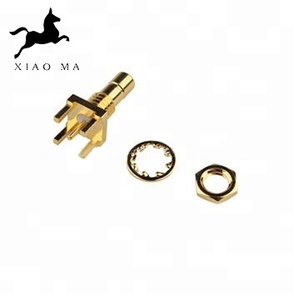 FREE SAMPLE smb End Launch Jack PCB Mount Edge Double male RF connector