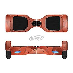 The Basketball Overlay Full-Body Wrap Skin Kit for the iiRov HoverBoards and other Scooter (HOVERBOARD NOT INCLUDED)