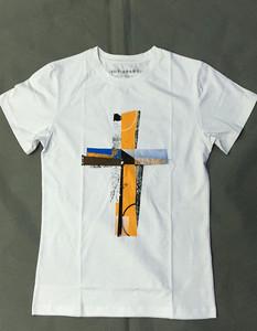 Custom high quality soft men print 100% combed ring spun cotton t-shirt