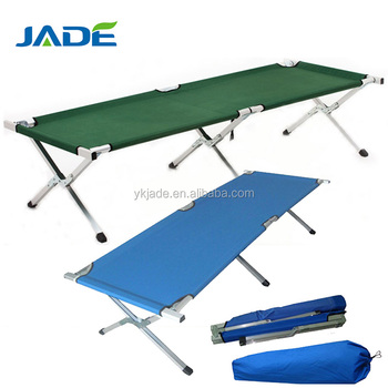 High Class Patio Furniture General Use Garden Treasures Outdoor Furniture  Durable Folding Military Camping Bed