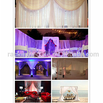 Rk India Wedding Backdrop Decoration Pipe And Drape For Sale