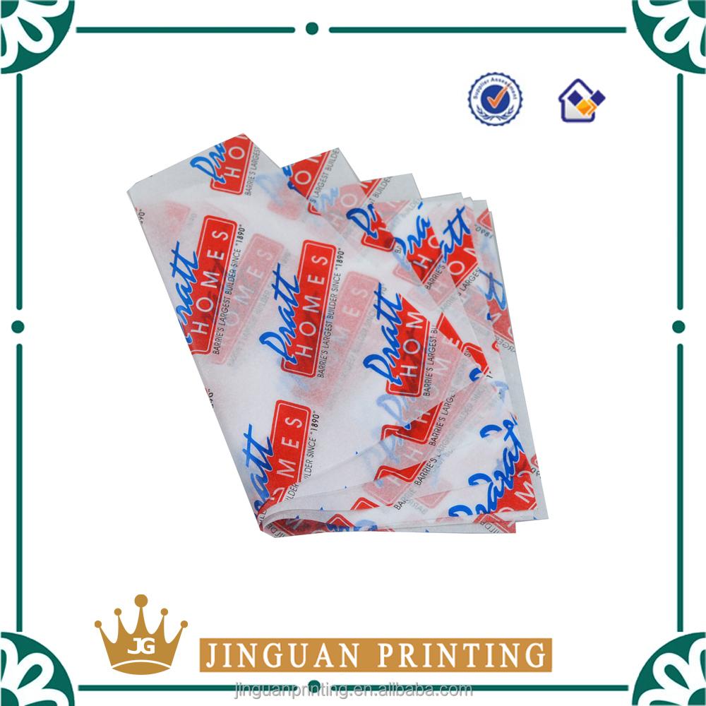 Gros personnalis pas cher papier de soie 17gsm avec logo - Papier de soie pas cher ...