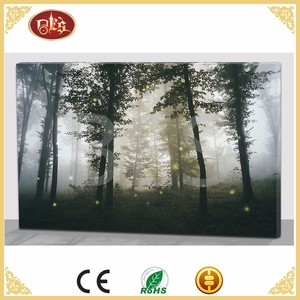 Spring Embossed Painting Mass Production Large Canvas Art Cheap