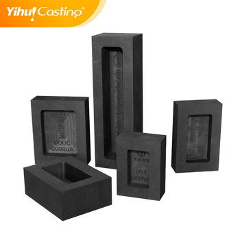 100g Graphite Ingot Mold With Pattern For Gold Bar And Silver Bar  Making,Logo And Size Can Be Customized - Buy Ingot Mold,Graphite Mould For