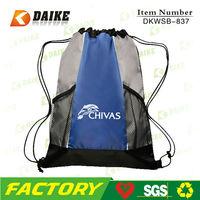 Nylon Sport Mesh Drawstring Backpack Bag DKWSB-837