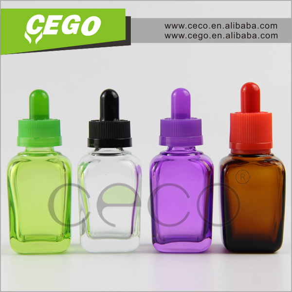 round colorful elcetroplate glass bottles with dropper