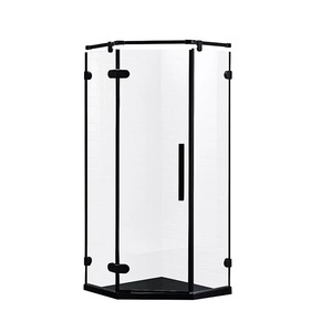 Corner Frameless Hinge Shower Stall GD9056Z