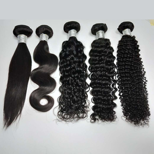 wholesale virgin hair vendors brazilian cuticle aligned hair bundles no tangle can be dyed human hair