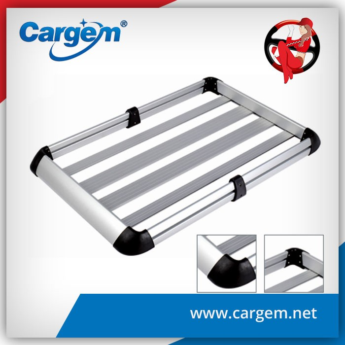 Direct factory supply customized extrusion 132.5X87X11.5cm aluminum car carrying roof rack