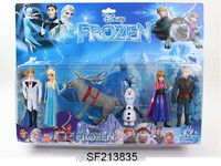 Promotional frozen action figure frozen Elsa and Anna frozen doll elsa kids figure doll