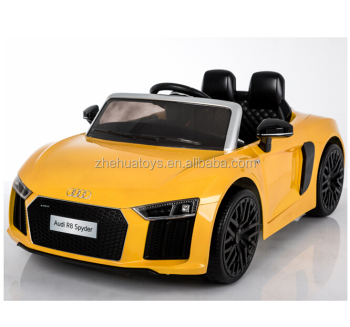 Audi R Licensed Ride On Electric Toy Car For Kids To Drive Buy - Audi electric toy car