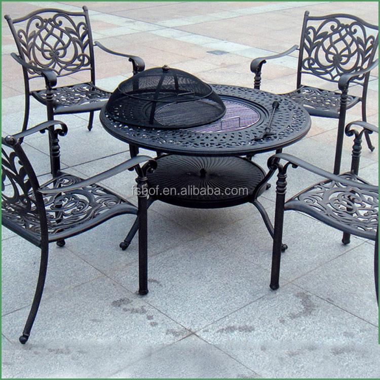 Factory Cast Iron Garden Furniture