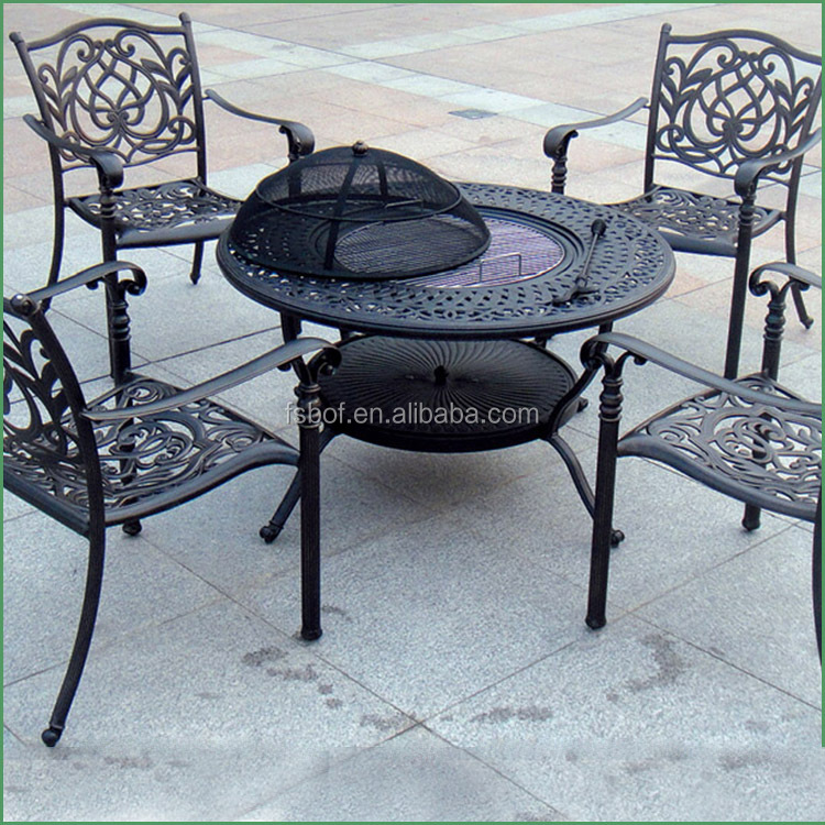 Factory Cast Iron Garden Furniture Cast Iron Table And Chair Wrought