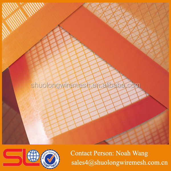 Outstanding Wear Resistance Bolting Polyurethane Flip Flow Screen PU Mesh