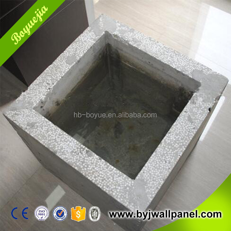 Eco-friendly soundproof eps bead foam cement particle board