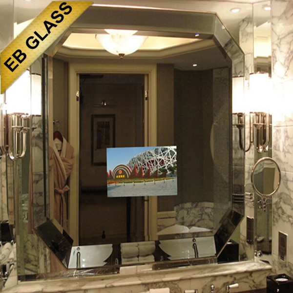 revolutionary TV set mirror TV for hotel supplier/wholesaler/manufacture/distributor EB GLASS BRAND