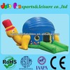inflatable moonwalk for kids, turtle air bouncer inflatable trampoline