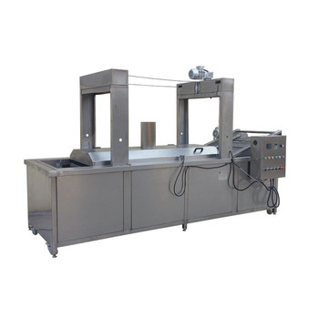 CE Approved Stainless Steel Continuous Samosa Frying Machine