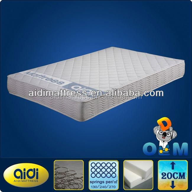 New Product On China Market Pocket Spring Mattress With Soft Memory Foam AM-0018