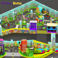 A theme park for children's driving school Indoor Playground Rides Paid Design Service