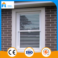 high quality casement cheap price pvc/upvc/vinyl windows from China