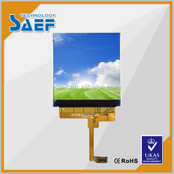 "Special small display 400cd/m2 MIPI interface 1.54"" inch ips tft screen module"