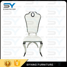 Modern luxury stainless steel legs low price dining chair louis chair for event CY018