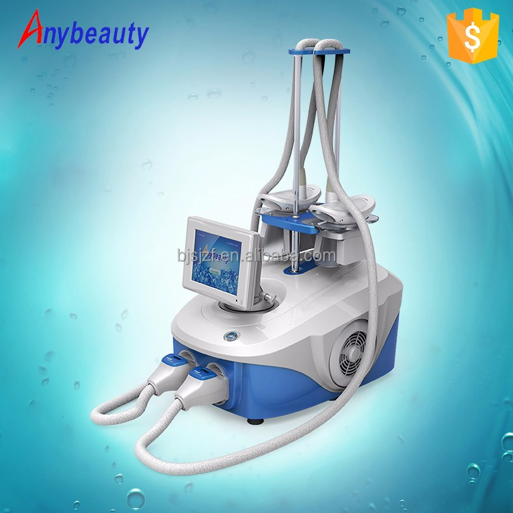 Perfect effect portable cryotherapy equipment cryo facial machine with 2 handles