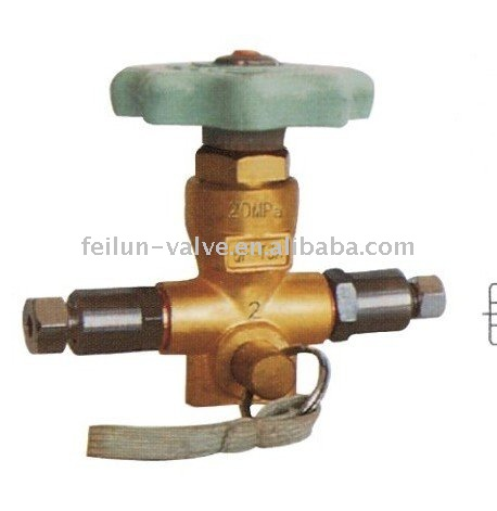 QF-T3A2 Nature Gas CNG Fill Valve(6mm cng pipe parts )