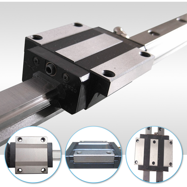 THK SHS15 & SHS15C Caged Linear Motion Ball LM Guide Rail and Slide Block