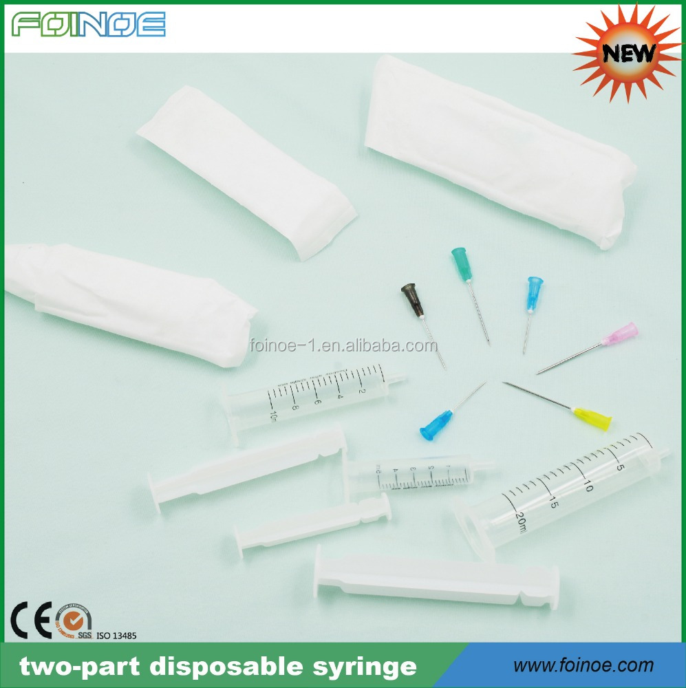 medical 10cc disposable syringes used in hospital