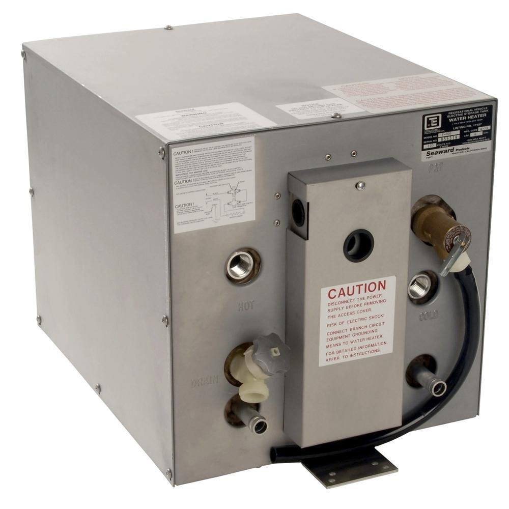 Whale Seaward 11 Gal Hot Water Heater W//Rear Heat Exchanger Part #S1100W By Whale Marine