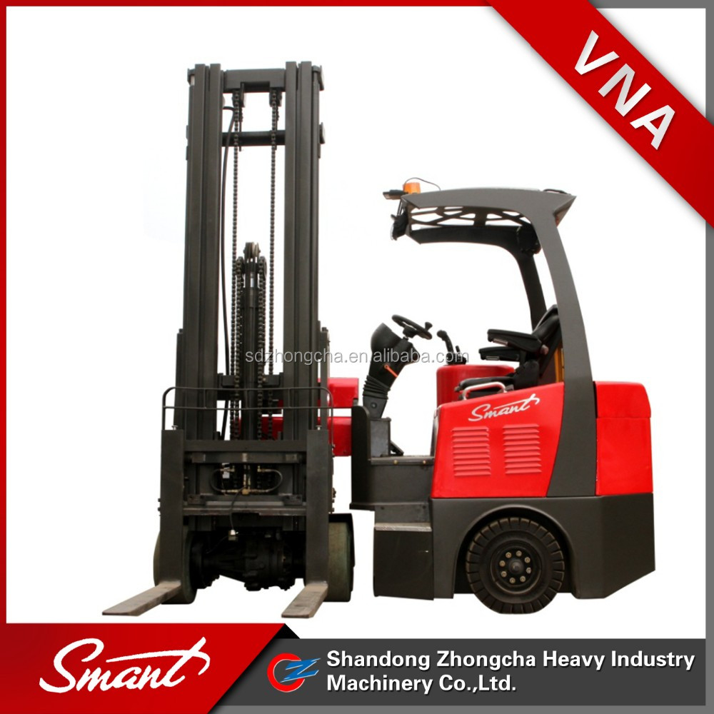 CPJD15 4 wheels 1.5 ton solid electric forklift with low price