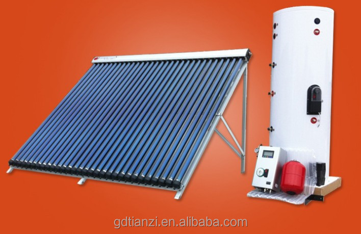 Seperated Pressure Bearing Type Standard Tank Indirect Pressure Solar Water Heater