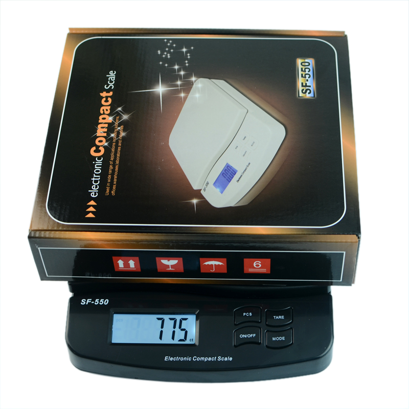 CE/ROHS approval 25kg/55lb Digital Electronic Weighing Scale for Shipping/Kitchen/Shop