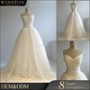 hot sale 100% brand new illusion back beach casual wedding dress