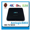 2014 Android 4.4 Kitkat Quad Core Mxiii Amlogic TV Box 1080Px2 Rooted Jailbroken imito mx3 android 4.1 smart tv box