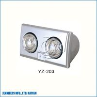 High Quality Ceiling Mounted PTC&Infrared Lamp Heater Bathroom Fan Heater with Led Panel