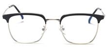 Мужские металлические оптические очки Peekaboo, оправа для мужчин, золотые, серебристые, черные, прозрачные линзы, квадратные очки для женщин, в...(Китай)