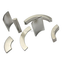 china factory permanent n54 arc ndfeb magnets in nickel coatings