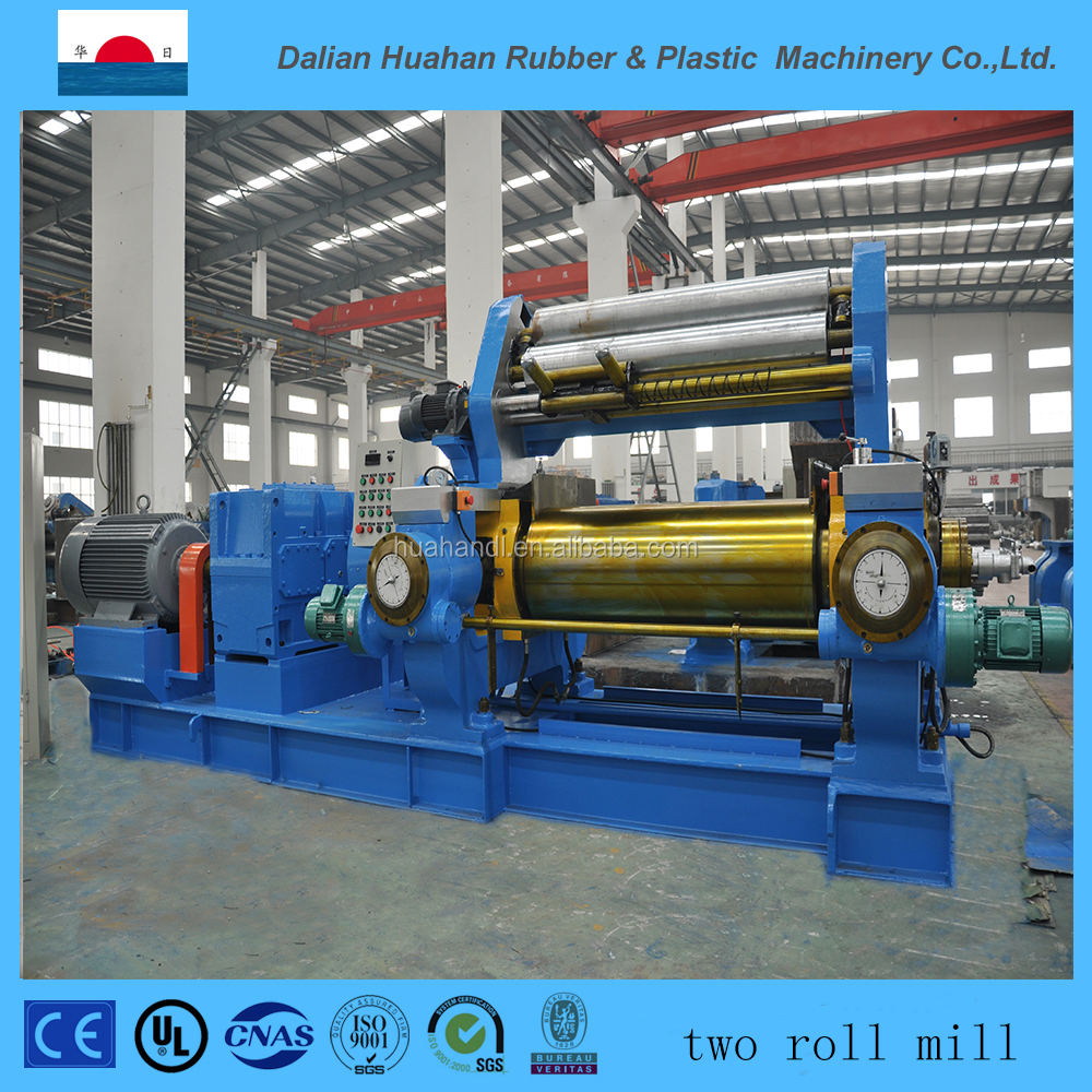 2016 Rubber open two roll mixing mill machine Direct plant since 1986