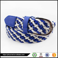 Wholesale china trade braided fabric belt for women unique mens belts